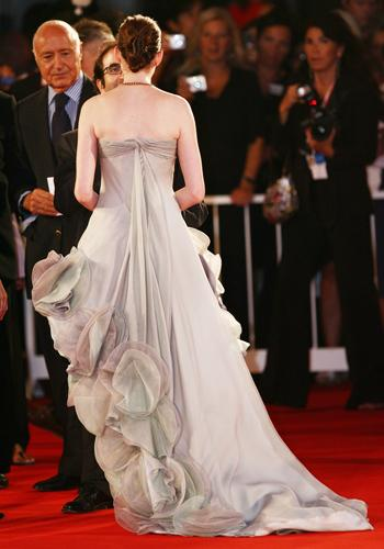 Anne Hathaway at the Venice Film Festival premiere of 'Rachel Getting