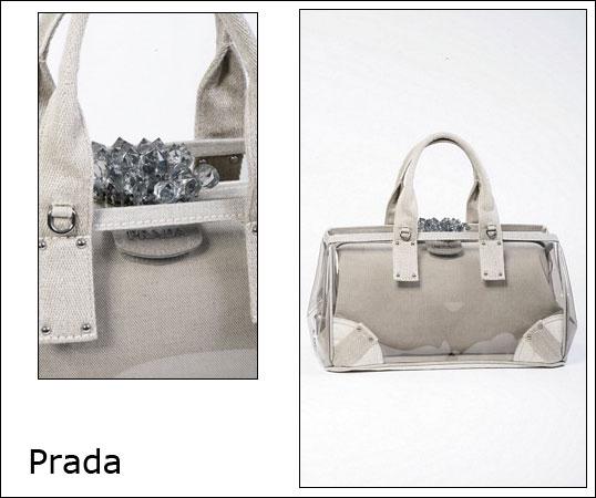 The Prada Bag in Plexiglass | Fashion Shops - Store\u0026#39;s Guide